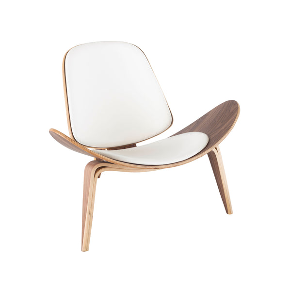crown and birch adrik nuevo occasional chair white natural front angle