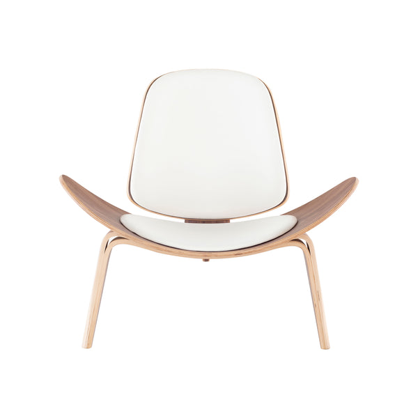 crown and birch adrik nuevo occasional chair white natural front