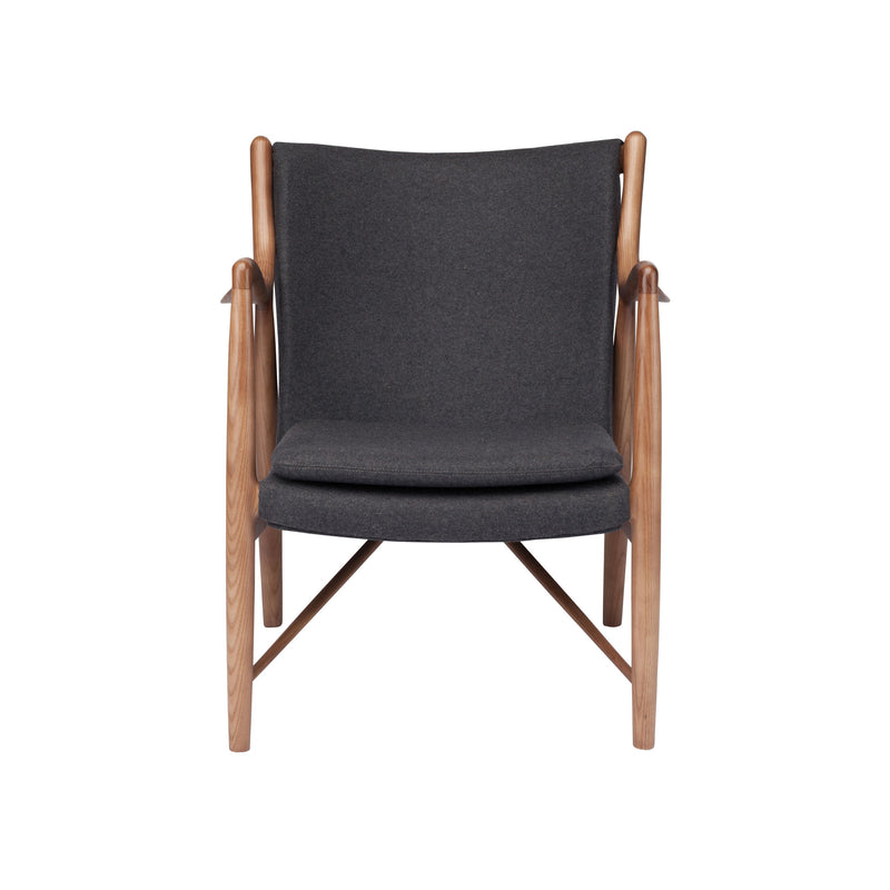 Steven Occasional Chair | Grey Wool