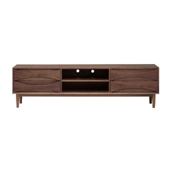 crown and birch adalyn nuevo media unit walnut front
