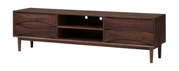 crown and birch adalyn nuevo media unit walnut angle