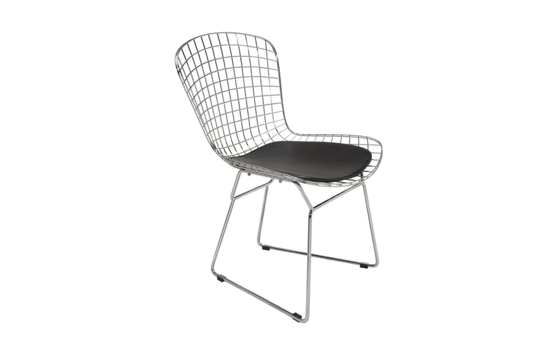 Wire Dining Chair | Black