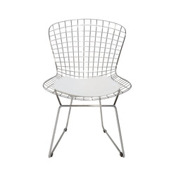Wire Dining Chair | White