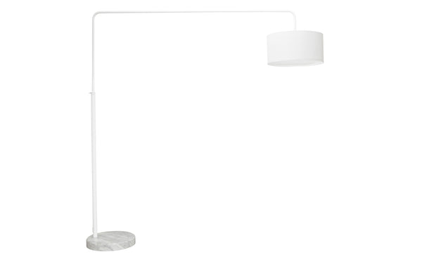 Rocco Floor Lamp | White