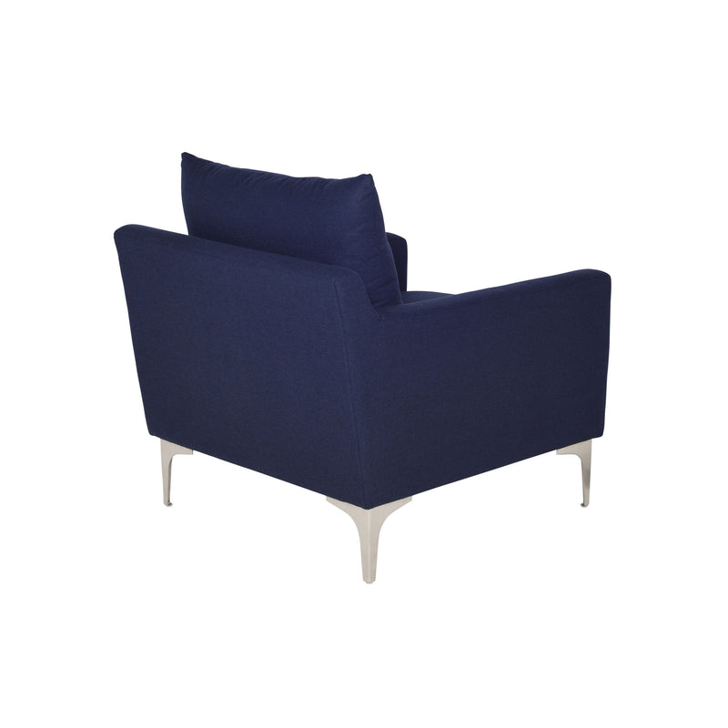 Brigitte Occasional Chair | Navy Blue