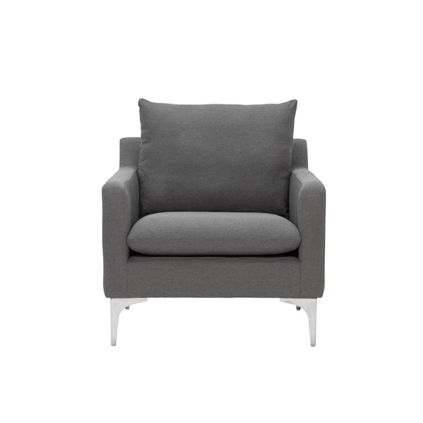 Brigitte Occasional Chair | Slate Grey