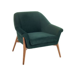 Evelyn Occasional Chair | Emerald Green