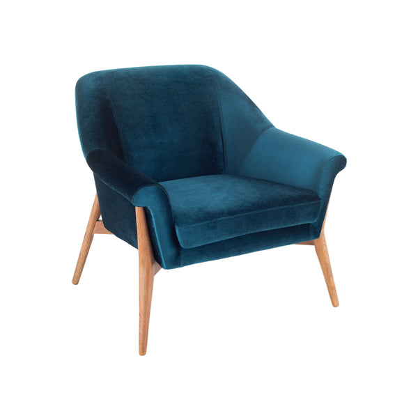 Evelyn Occasional Chair | Midnight Blue
