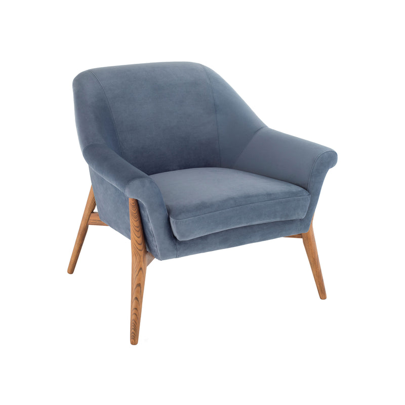 Evelyn Occasional Chair | Dusty Blue