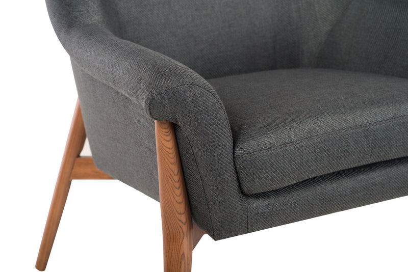 Evelyn Occasional Chair | Storm Grey