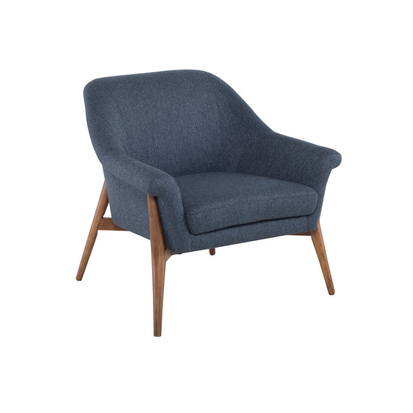 Evelyn Occasional Chair | Denim Tweed