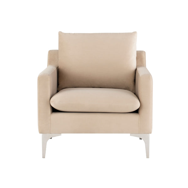 Brigitte Occasional Chair | Nude