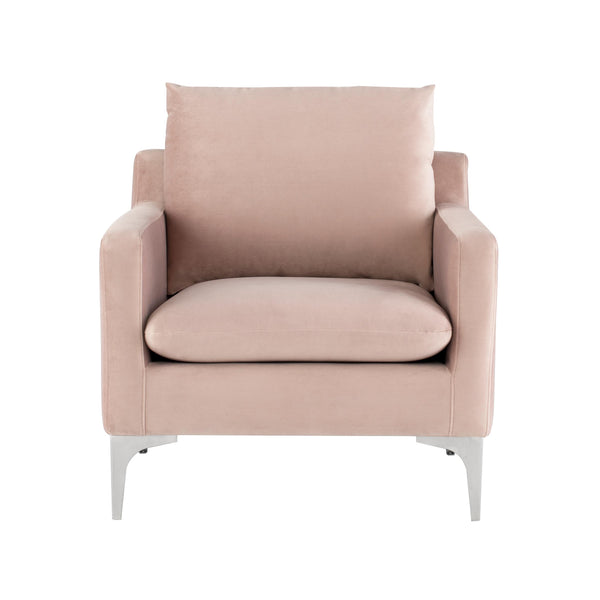 Brigitte Occasional Chair | Blush