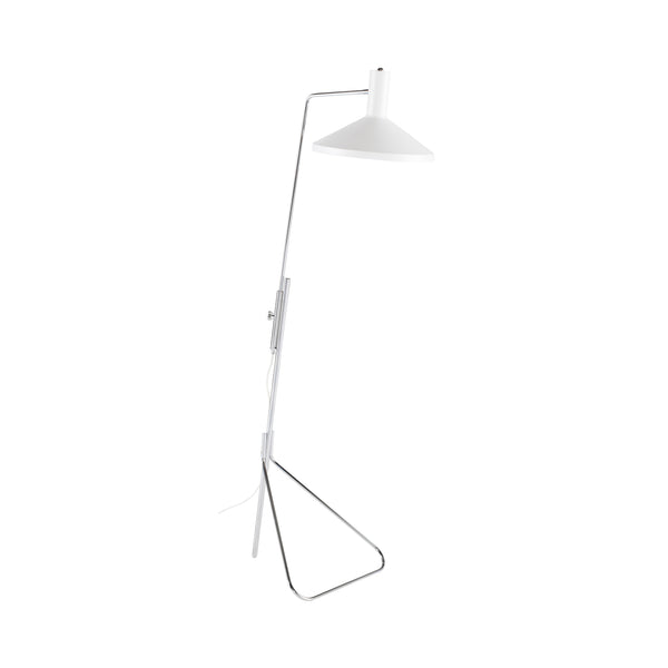 Konrad Floor Lamp | White