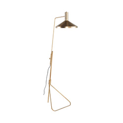 Konrad Floor Lamp | Gold