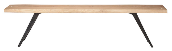Harrison Bench | Raw Oak