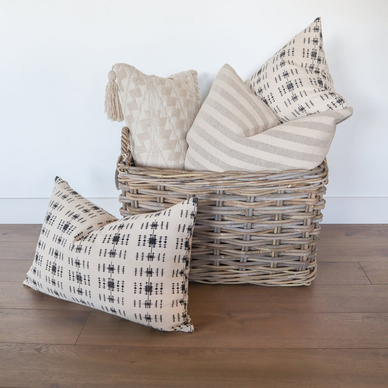 Ingram Stripe Pillow | Sand