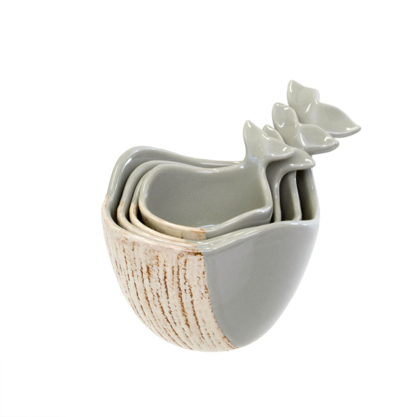 crown and birch whale tail measuring cups indaba angle