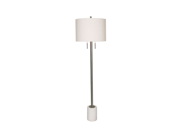 Lillian Floor Lamp | White