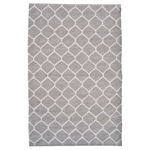 crown and birch rug marham grey ivory top flatweave