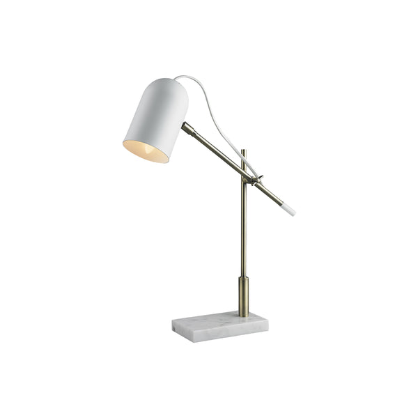 Leighton Desk Lamp | White