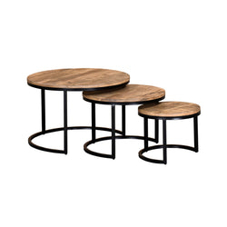 crown and birch 3 piece grey accent tables angle