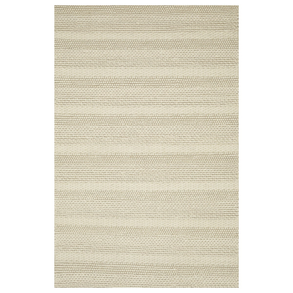 crown and birch adanac rug ivory front