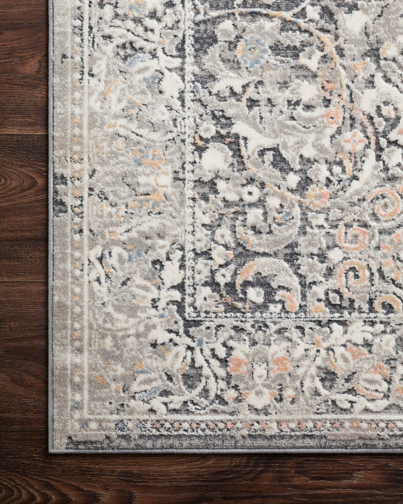 crown and birch alessi rug grey mist corner