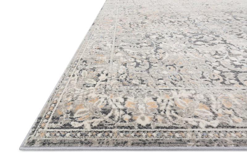 crown and birch alessi rug grey mist detail