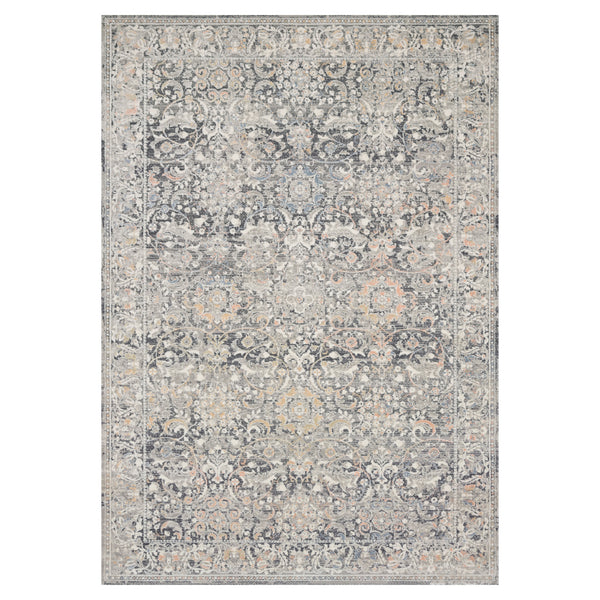 crown and birch alessi rug grey mist front
