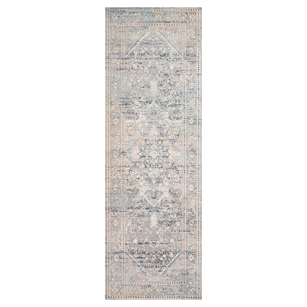 crown and birch alessi rug grey sunset runner