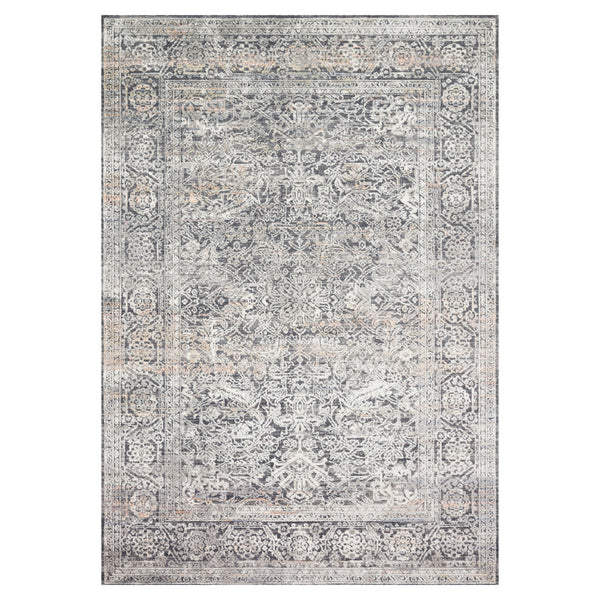 crown and birch alessi rug steel ivory front