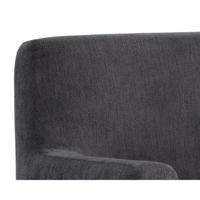 crown and birch avery occasional chair grey back detail
