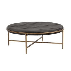 crown and birch axel ottoman coffee table smoke front