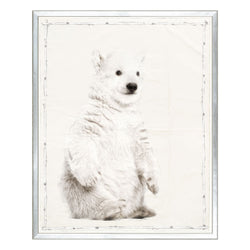 crown and birch baby animal series polar bear