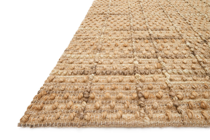 crown and birch barton rug natural detail