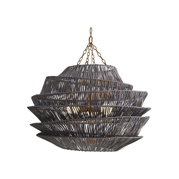 crown and birch benton pendant dark gray wash on