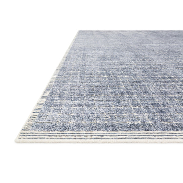 crown and birch brooklyn rug denim detail