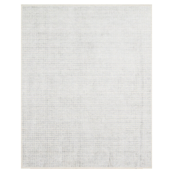 crown and birch brooklyn rug silver sky front