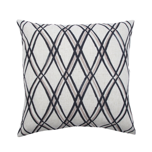 crown and birch calla crisscross pillow front