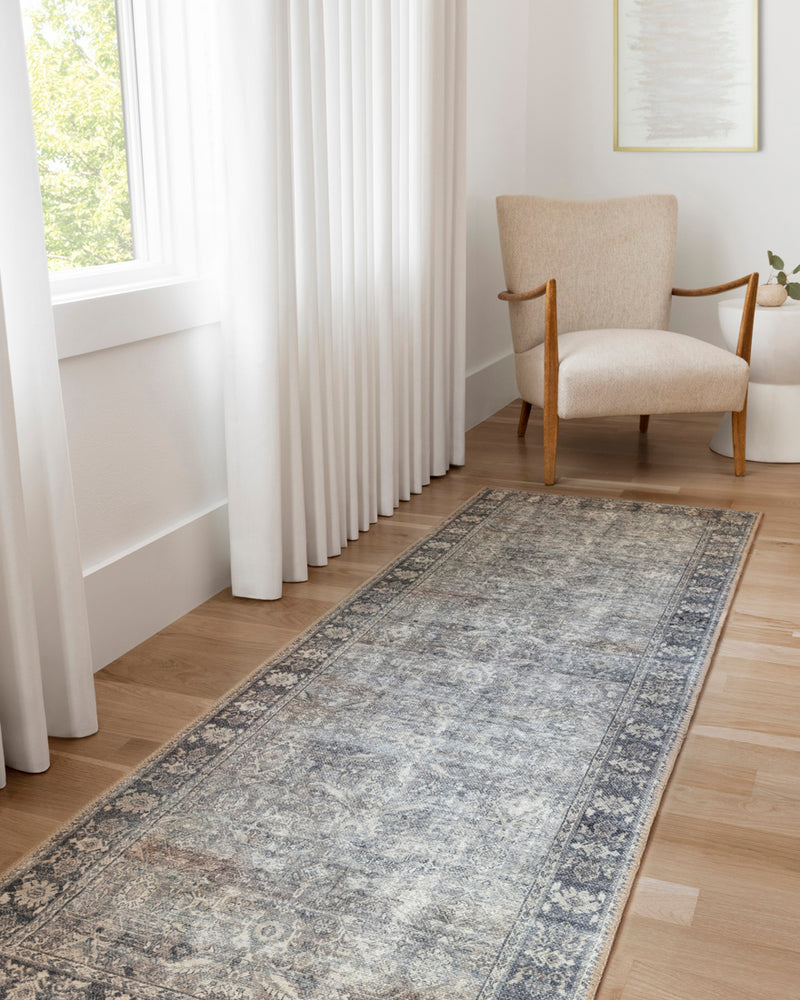 crown and birch claire rug grey charcoal room