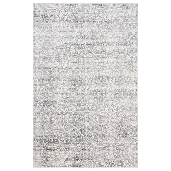 crown and birch clearwater rug grey front