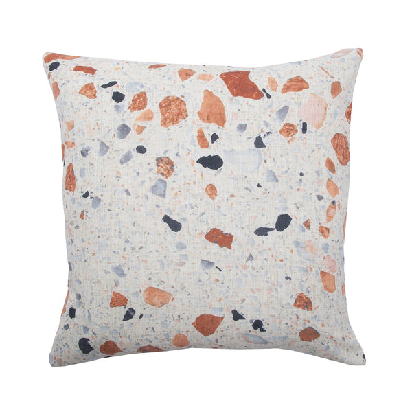 crown and birch covelo speckled multi pillow front