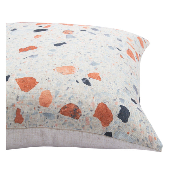 crown and birch covelo speckled multi pillow side