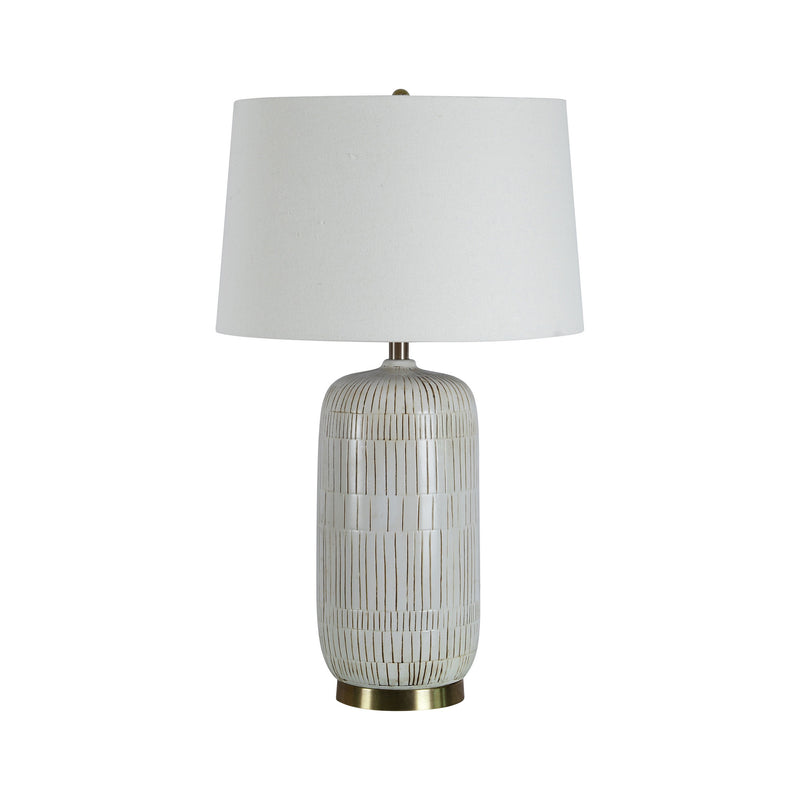 crown and birch cynthia table lamp front