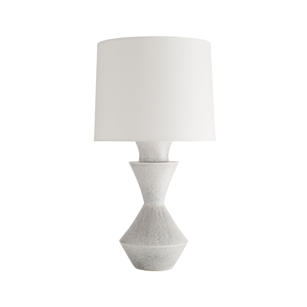 crown and birch daicy table lamp front