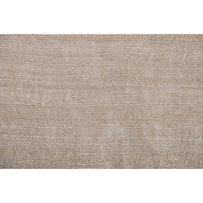 crown and birch delia beige long lumbar pillow detail