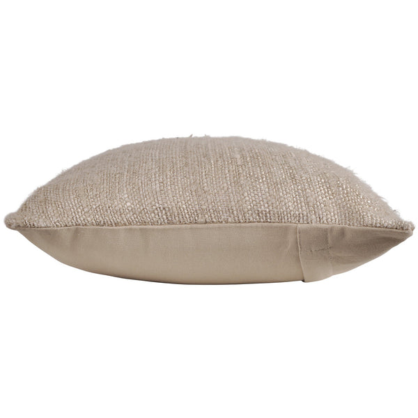 crown and birch delia beige long lumbar pillow side