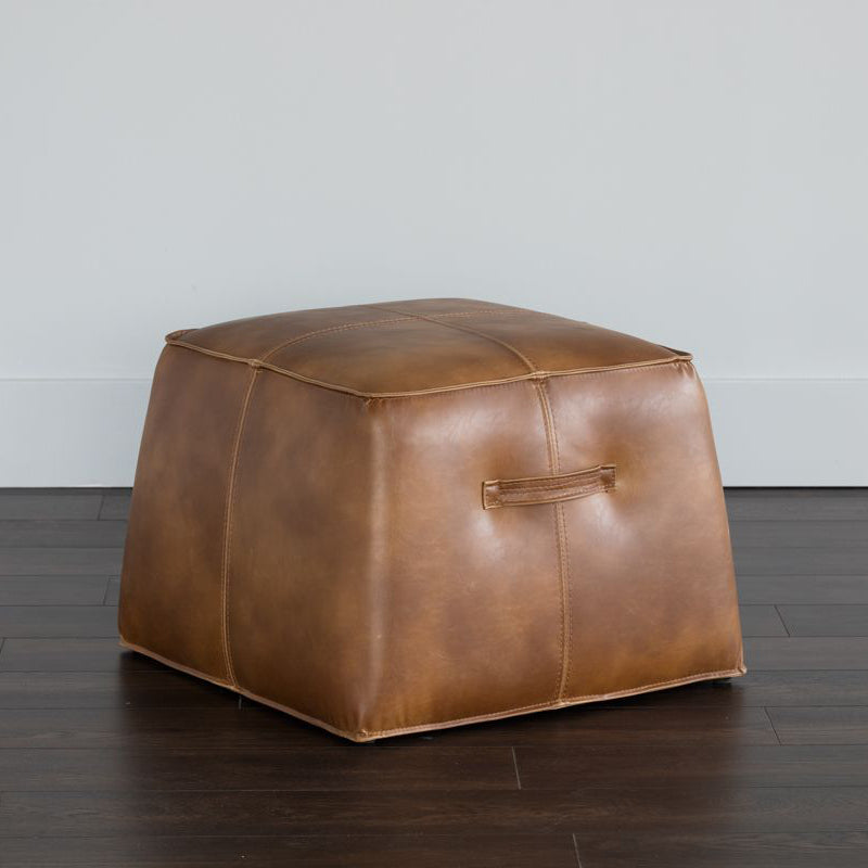 crown and birch elbert ottoman tobacco tan scene