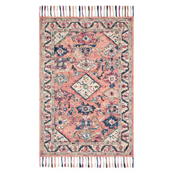 crown and birch elsa rug pink multi front
